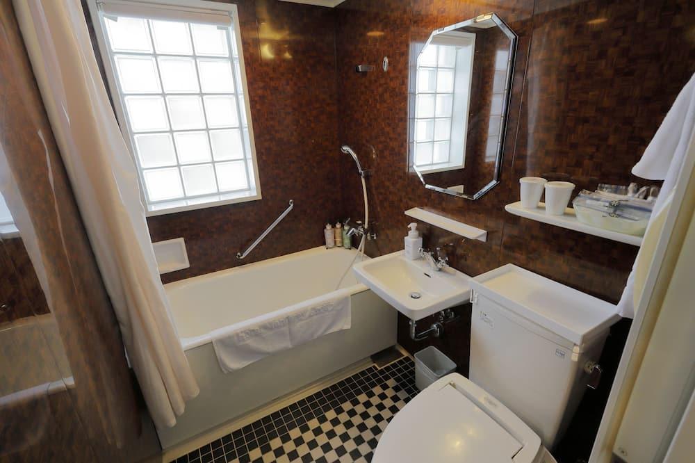 Kahden hengen huone, Tupakointi sallittu (Small) - Kylpyhuone