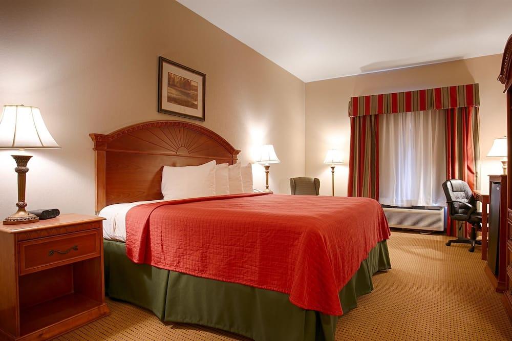 Standardværelse - 1 kingsize-seng - handicapvenligt - ikke-ryger - Badeværelse