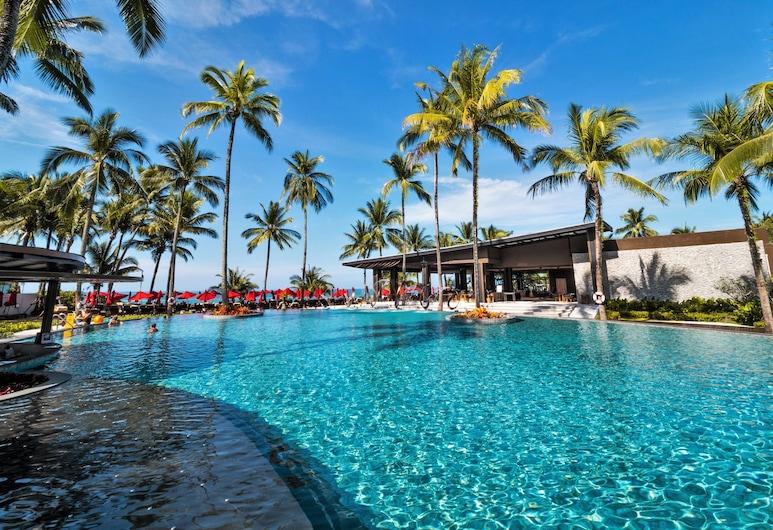 考拉溫德姆華美達度假村, 塔庫巴, 室外泳池