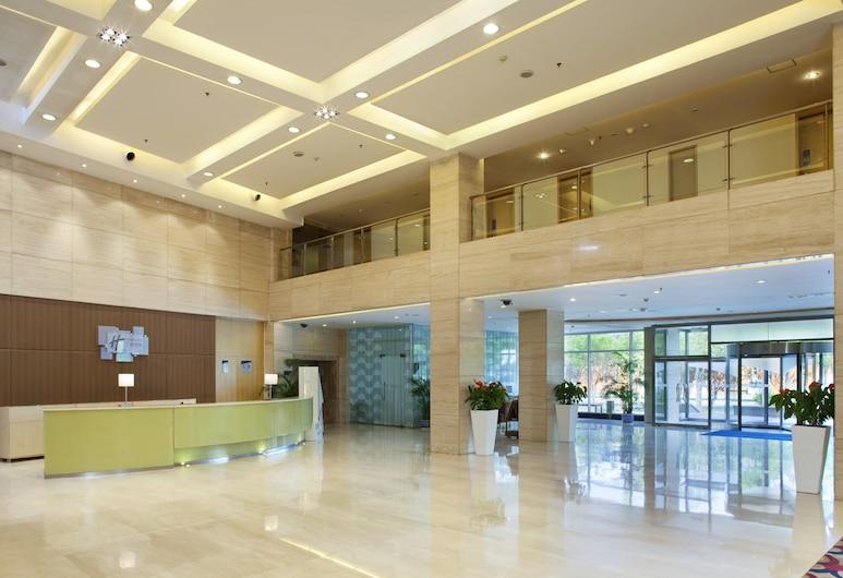 Holiday Inn Express Airport Tianjin, Tianjin, Vestíbulo