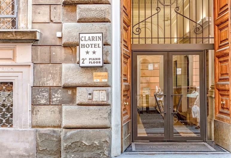 Morpheus Rooms, Roma, Ingresso hotel