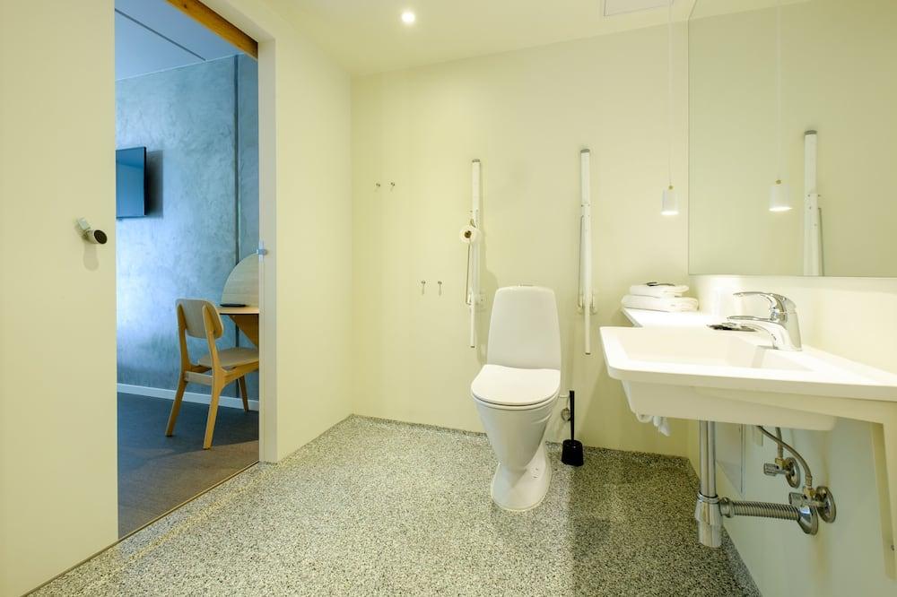 Habitación con 2 camas individuales, accesible para personas con discapacidad - Cuarto de baño
