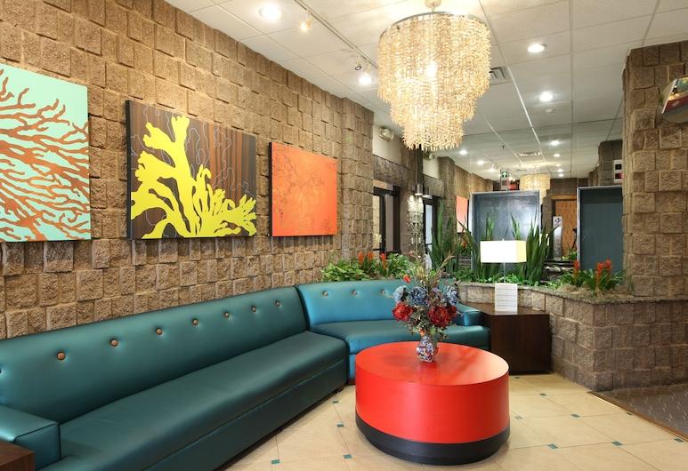 The Barclay Towers Resort Hotel, Virginia Beach, Lobby Sitting Area