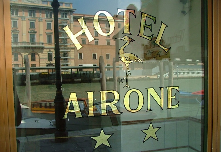 Airone Hotel, Venice, Hotel Entrance
