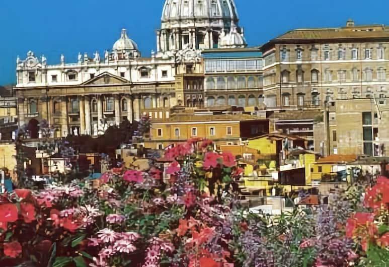 Serena Hotel, Řím, Výhled z hotelu