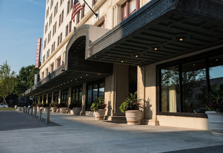 Colcord Hotel, אוקלהומה סיטי, חזית המלון