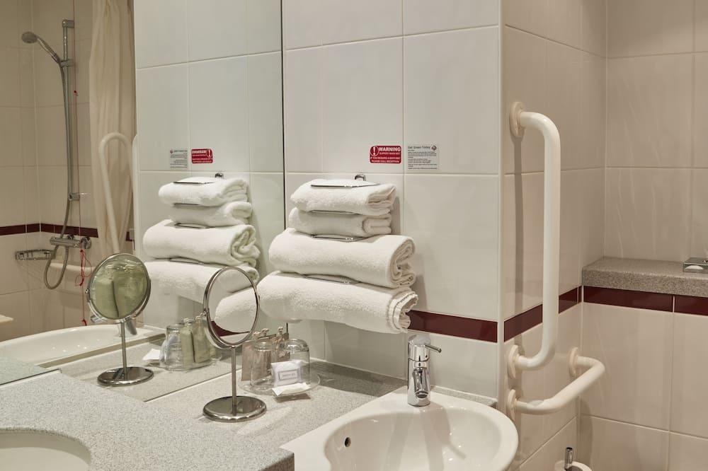 客房, 2 張加大雙人床, 無障礙 - 浴室