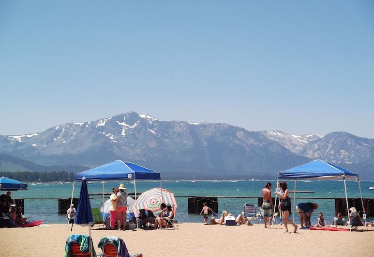 7 Seas Inn at Tahoe, South Lake Tahoe, Παραλία