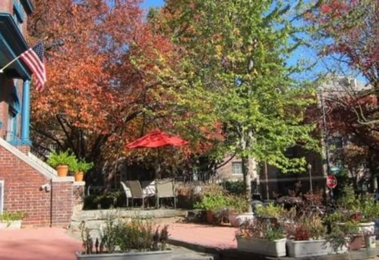 The Kalorama Guest House, Washington, Bahagian Luar