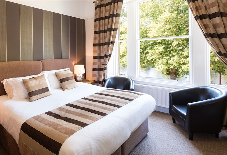 Glen Mhor Hotel, Inverness, Classic Double Room, River View, Guest Room