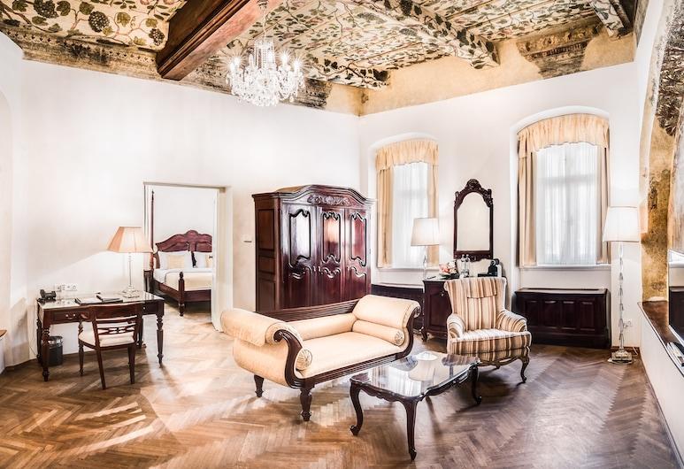 The Dominican , Prag, Executive Süit, Oturma Alanı
