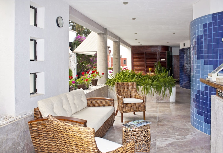 Hotel & Spa Doña Urraca San Miguel de Allende, San Miguel de Allende, Hiên