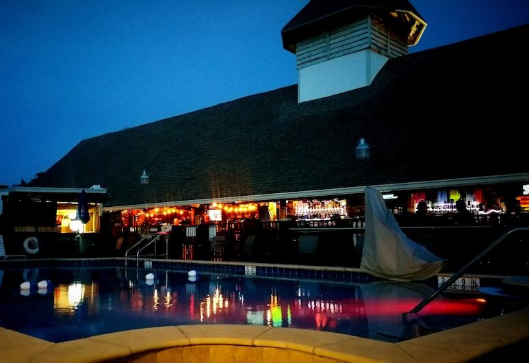 Dolphin Key Resort, Cape Coral, Bar Junto à Piscina