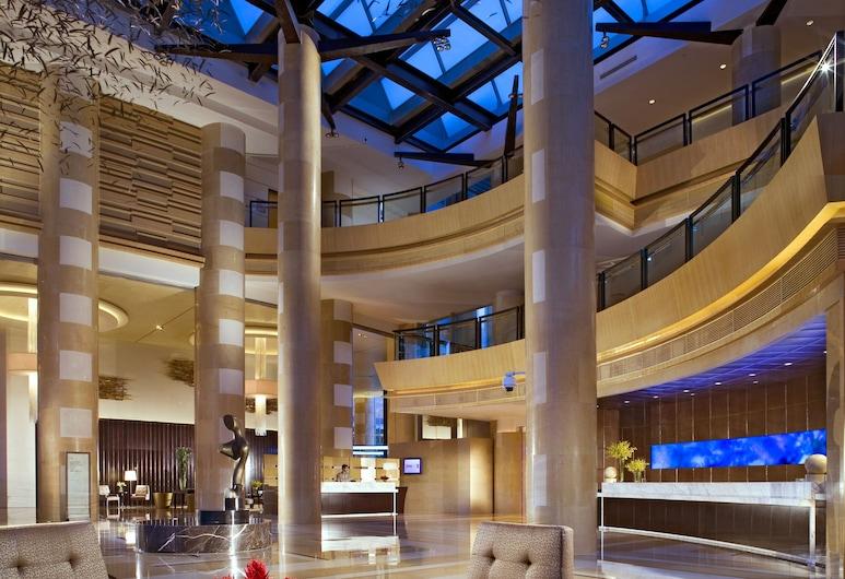 쉐라톤 그랜드 상하이 푸둥 호텔 & 레지던스, 상하이, 슈피리어룸, 킹사이즈침대 1개, 금연, 정원 전망, 객실