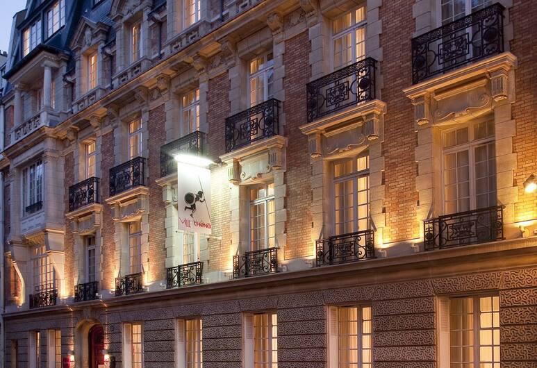호텔 빌라테나, 파리, 호텔 정면 - 저녁/밤