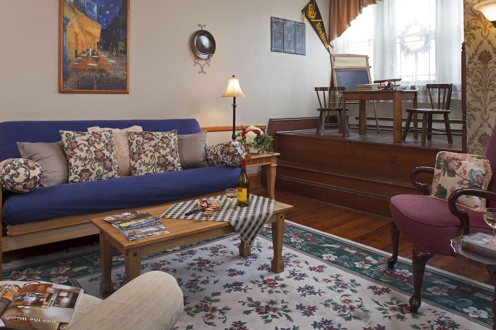 Apartmán typu Exclusive, 1 extra veľké dvojlôžko - Obývacie priestory