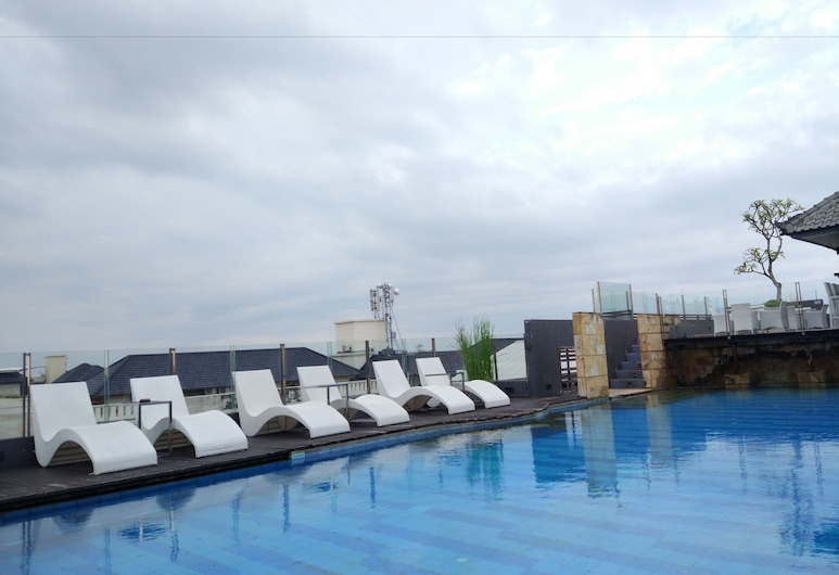 Stark Boutique Hotel and Spa Bali, Kuta, Rooftop Pool