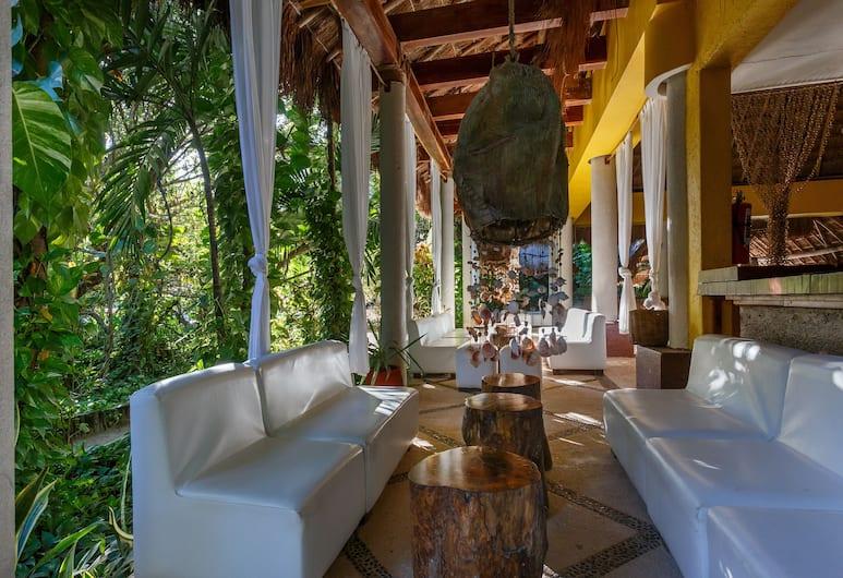 Villas HM Paraiso del Mar, Isla Holbox, Hotelli sohvabaar