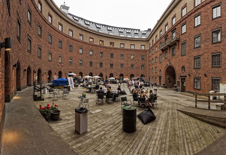 First Hotel Norrtull, Stockholm, Innenhof