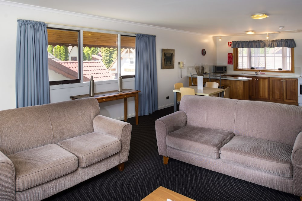 Two Bedroom Village Apartment - Living Area