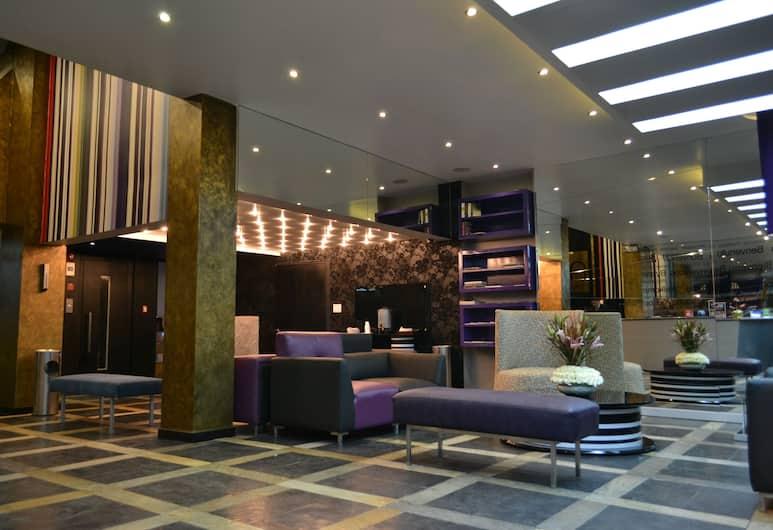 Nu House Boutique Hotel, Quito, Siddeområde i lobby