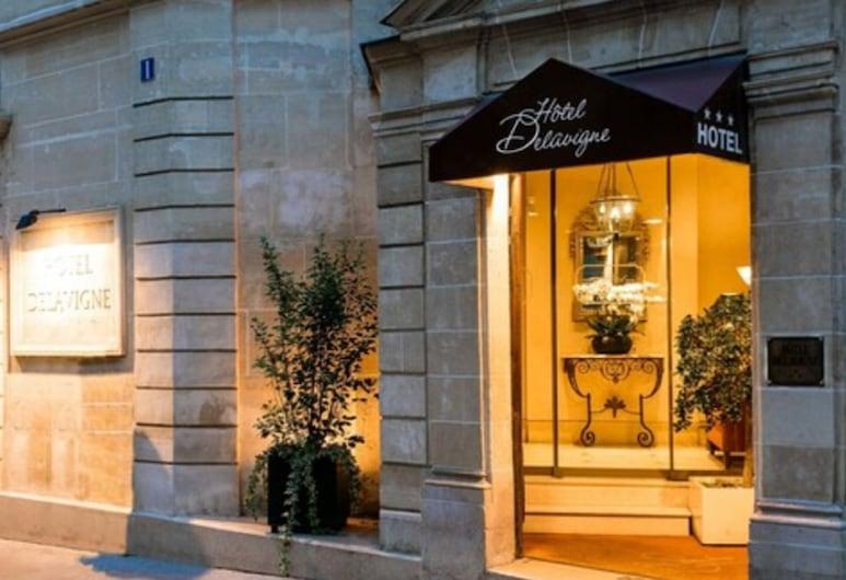 德拉維涅酒店, 巴黎, 酒店正面