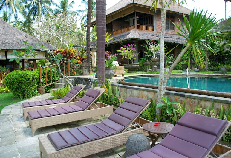 Hotel Bunga Permai, Ubud, Lauko baseinas