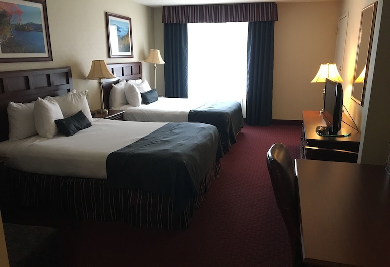 Comfort Inn & Suites, Lake George, Room, 2 Queen Beds, Accessible, Non Smoking, Guest Room