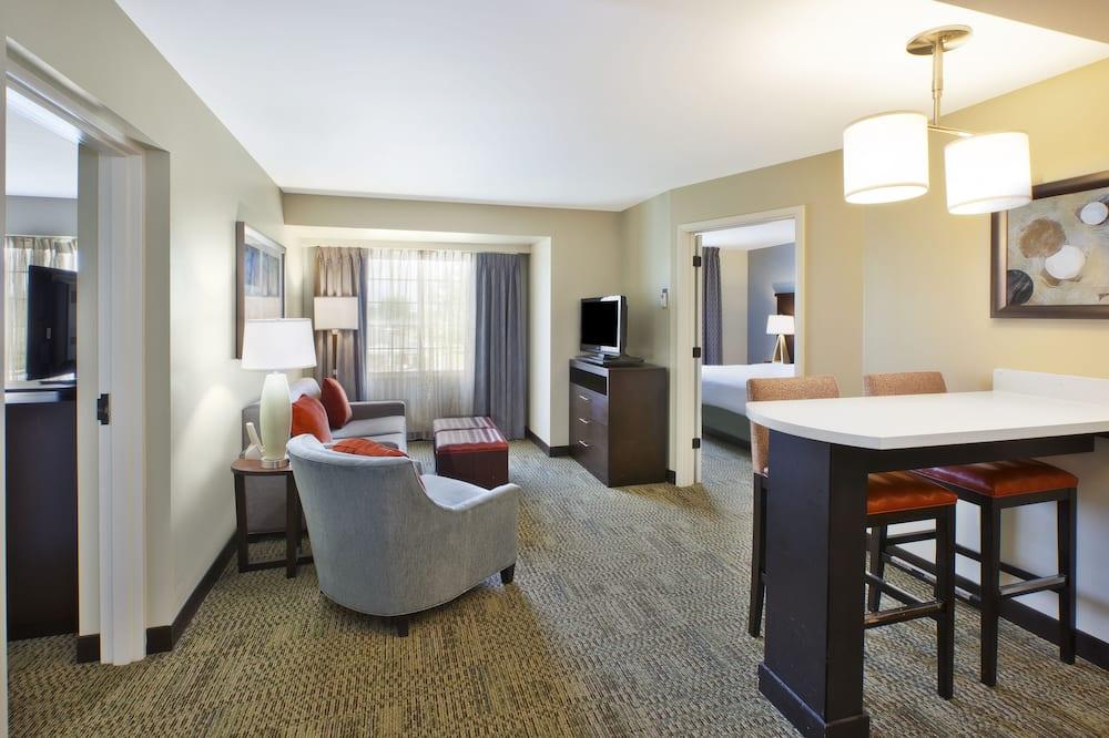 套房, 2 間臥室, 非吸煙房, 廚房 - 客廳