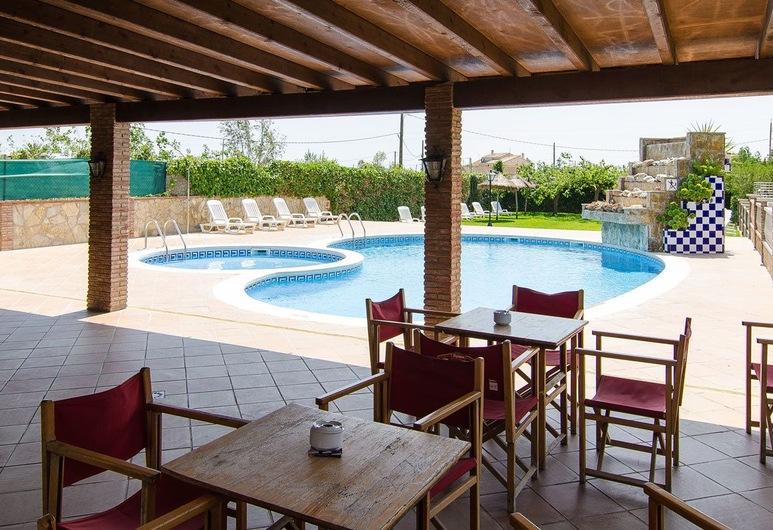 Delta Hotel, Deltebre, Terrasse/patio