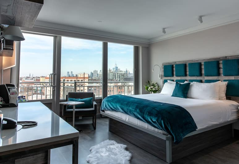 Hotel Le Bleu, Brooklyn, Signature Collection 1 King Bed , Guest Room