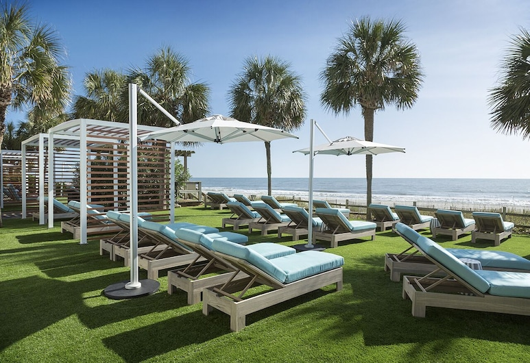 The Strand - A Boutique Resort, Myrtle Beach, Terraza