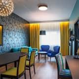 Suite, 1 cama doble, para no fumadores - Sala de estar