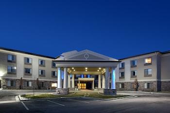 鹽湖城鹽湖城機場東國有貿易企業智選假日飯店的相片