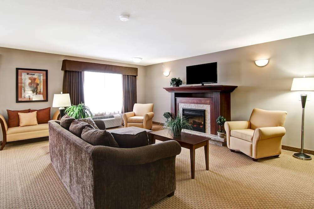 Apartmán typu Executive, 1 extra veľké dvojlôžko, krb - Hosťovská izba
