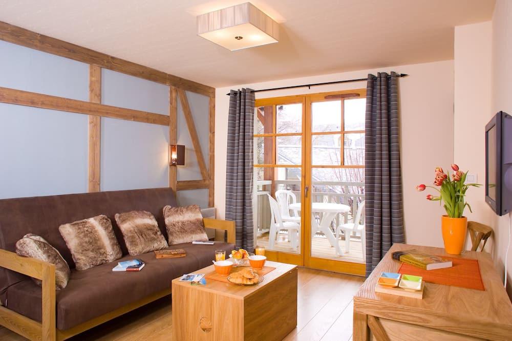 דירה, חדר שינה אחד (4 persons) - אזור מגורים