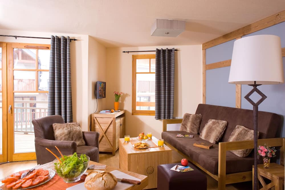 דירה, חדר שינה אחד (4 persons) - סלון