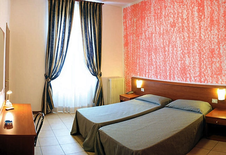 Hotel Paradiso, Milan, Twin Room, 2 Twin Beds, Guest Room