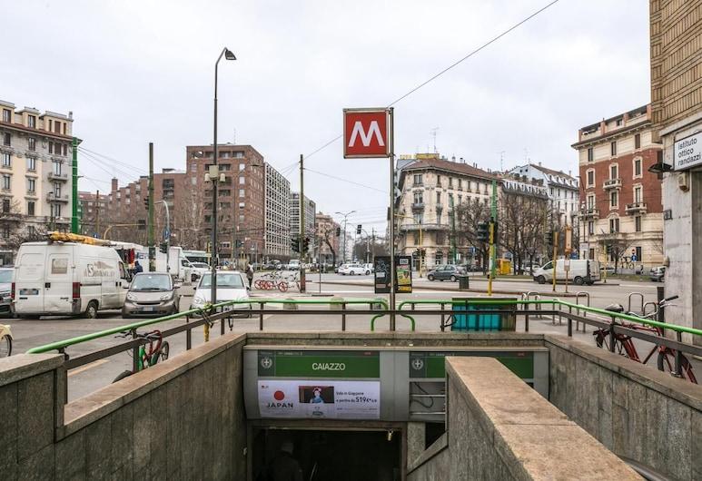 Hotel Paradiso, מילאנו, מרפסת