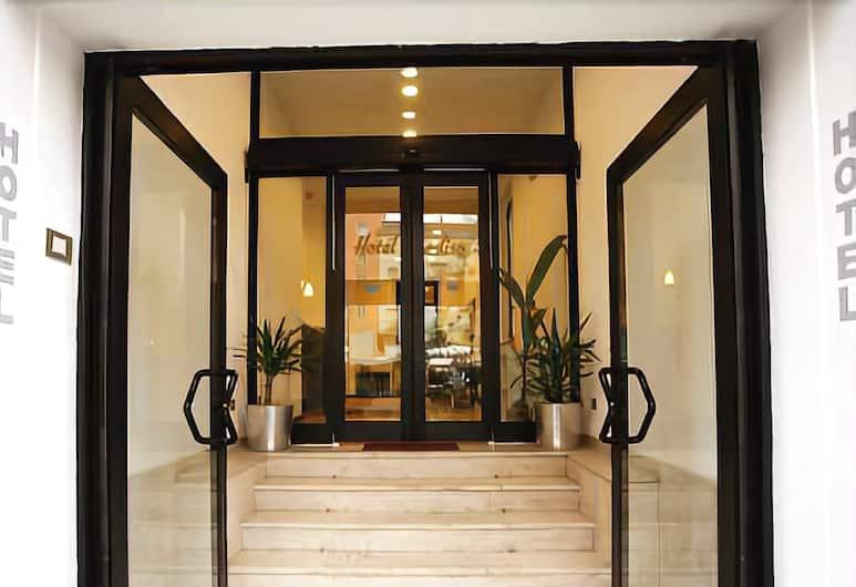 Hotel Paradiso, Μιλάνο, Είσοδος ξενοδοχείου
