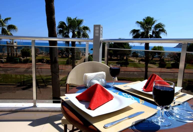 Eftalia Aytur Hotel, Alanya, Teras/Veranda
