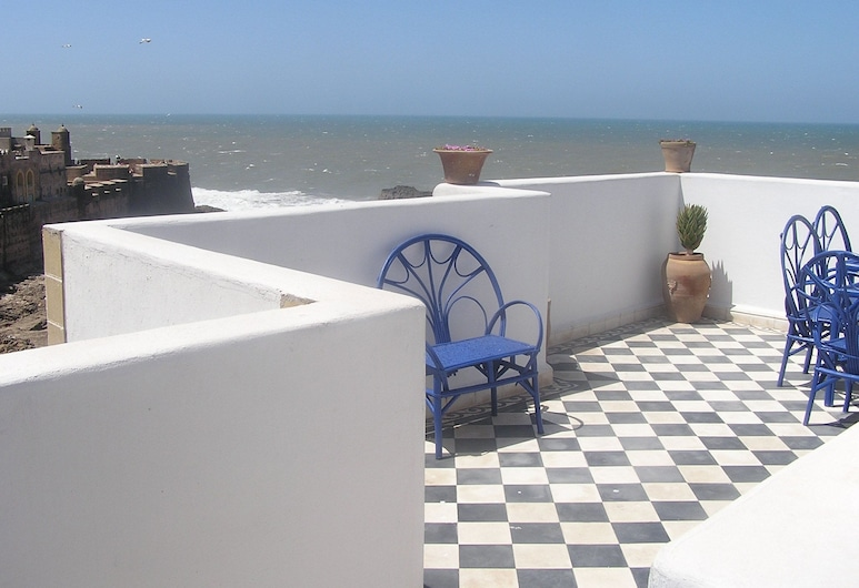 Dar al Bahar, Essaouira, Terrasse/Patio