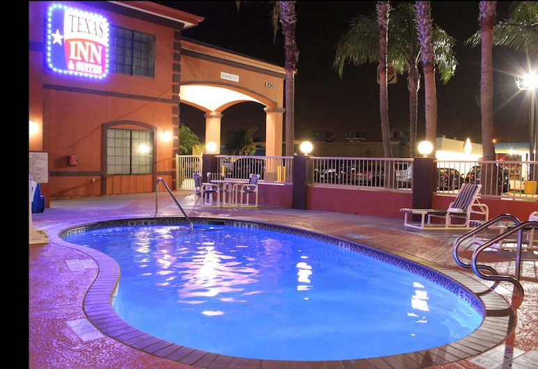 Texas Inn and Suites McAllen, McAllen, Kolam Renang