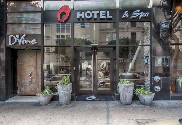 O Hotel, Los Angeles, Hotel Entrance
