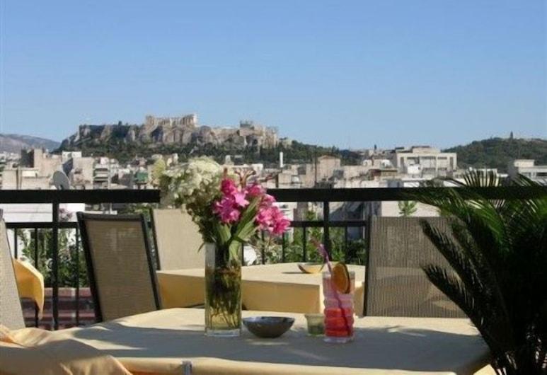 Apollo Hotel, Athén, Terasz/udvar