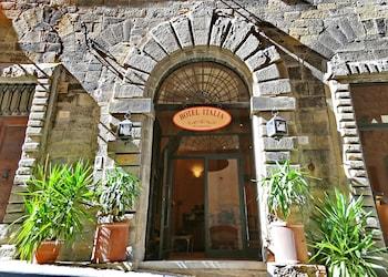 Selline näeb välja Hotel Italia, Cortona