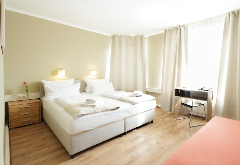 Hotel Pankow, Berlin, Standard-Doppelzimmer, Zimmer