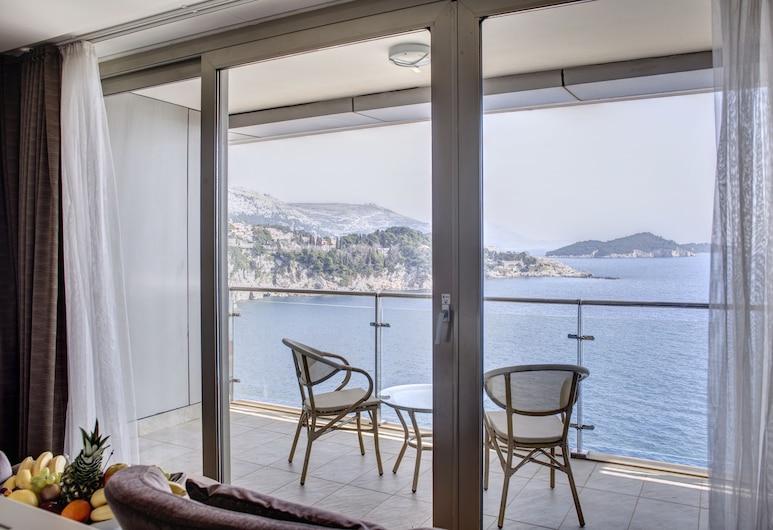 Rixos Premium Dubrovnik, Dubrovnik, Deluxe tuba, rõduga, vaade merele, Rõdu
