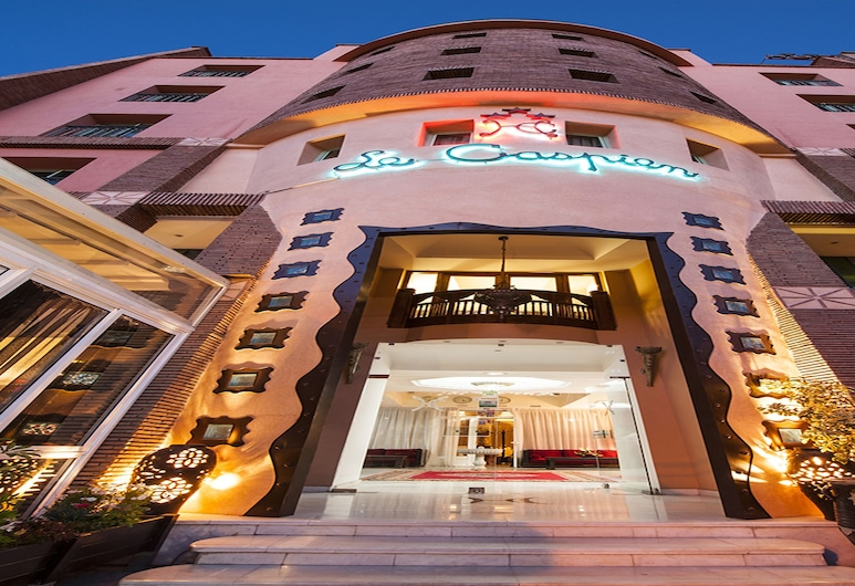 Hotel Le Caspien, Marakešas, Viešbučio fasadas