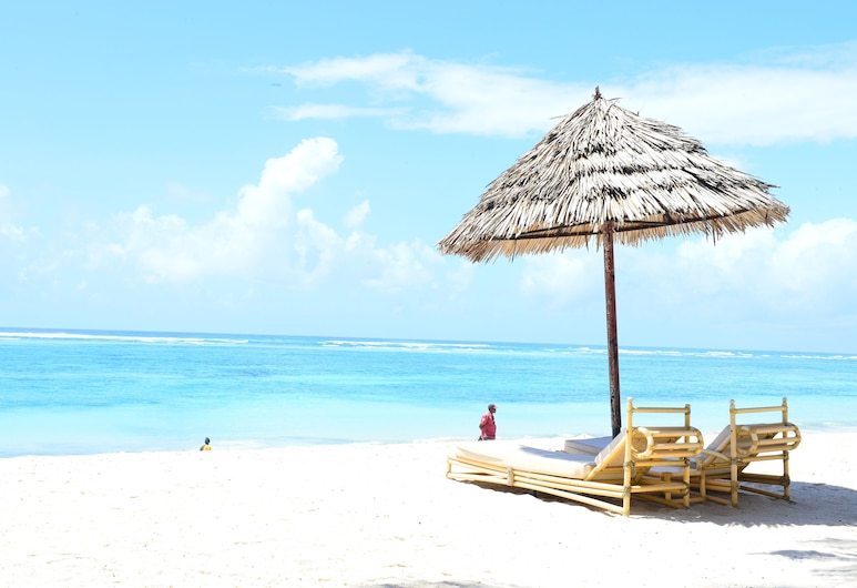 Diani Reef Beach Resort & Spa, Diani Bičas, Paplūdimys